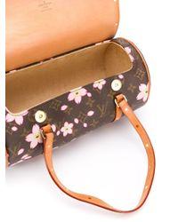 Borsa a mano Papillon Cherry Blossom di Louis Vuitton in Brown