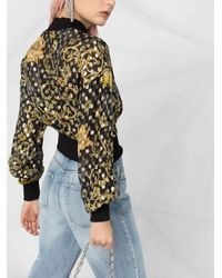 Maglione a pois di Versace Jeans in Black
