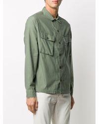 メンズ AllSaints ロングスリーブ シャツ Green