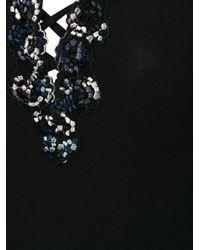 La Perla Black Opal Blooms Slip
