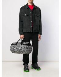 Balenciaga 'Wheel' Sporttasche mit Logos in Black für Herren