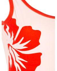 Onia Red 'Kelly' Badeanzug