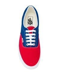 Vans 'BMX Checkerboard' Canvas-Sneakers in Red für Herren