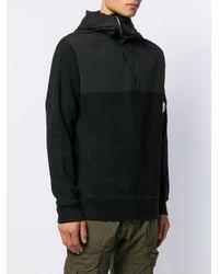 メンズ C P Company レンズディテール スウェットシャツ Black