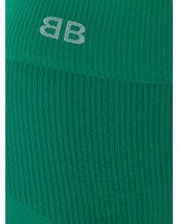 Balenciaga Green Shapy Tights