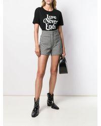 Sandro Black 'Love Never Ends' T-Shirt