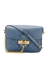 Mulberry Keeley サッチェルバッグ Blue