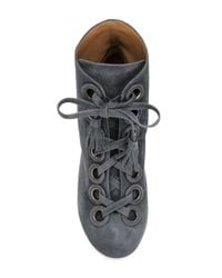 Laurence Dacade | Gray Pilly Boots | Lyst