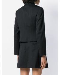 RED Valentino Black Perfectly Fitted Jacket