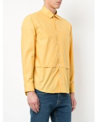 Cerruti 1881 - Multicolor Layer Detail Shirt for Men - Lyst