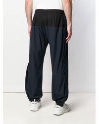 Pantalon de jogging bicolore Stella McCartney pour homme en coloris Blue