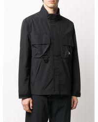 メンズ Stussy ロゴ ジャケット Black