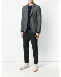 Roberto Collina Blue Crew Neck Sweater for men