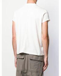 Rick Owens Drkshdw T-Shirt mit Rundhalsausschnitt in White für Herren