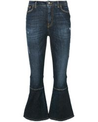 Dolce & Gabbana - Blue Kick Flare Jeans - Lyst