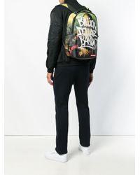 Sprayground - Black 'Mona Lisa' Rucksack for Men - Lyst