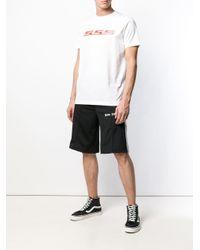 メンズ SSS World Corp ロゴ Tシャツ White