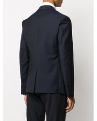 メンズ Prada テーラード ジャケット Blue