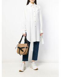 Loewe - White Oversized Shirt - Lyst