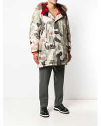 Woolrich Multicolor X Griffin Padded Coat for men