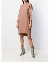 Robe Dolman Fabiana Filippi en coloris Brown