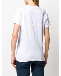 T-shirt à slogan imprimé Giada Benincasa en coloris White