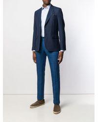 Camisa formal clásica Etro de hombre de color Blue