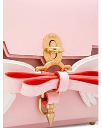 Niels Peeraer Pink Winged Bow Backpack