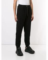 メンズ Represent ロゴ スウェットパンツ Black