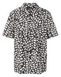 Dolce & Gabbana - Black Memphis Print Bowling Shirt for Men - Lyst