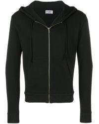 Sweat zippé à capuche Saint Laurent pour homme en coloris Black