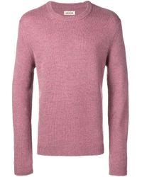 Maglione slim di Zadig & Voltaire in Pink da Uomo