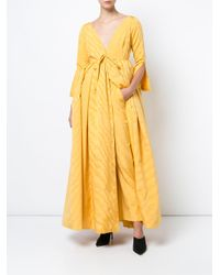 Rosie Assoulin Yellow Oboe Trousers