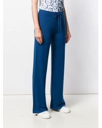 Pantaloni svasati di Pringle of Scotland in Blue