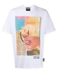 Camiseta de x Rosa Burgess Versace Jeans de hombre de color White
