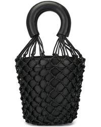 Сумка-ведро Staud, цвет: Black