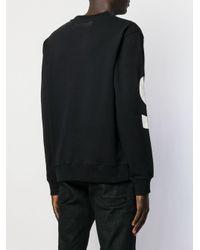 メンズ Just Cavalli ロゴ セーター Black