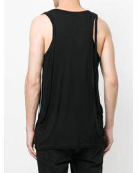 Unconditional - Fjv2 Basic Black Vest for Men - Lyst
