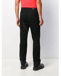Neil Barrett Gerade Jeans mit Reißverschlüssen in Black für Herren