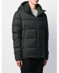 メンズ Tatras フーデッド パデッドジャケット Black