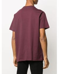 Levi's Red Logo Print T-shirt for men