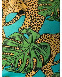 Top bikini Jungle Fever di Reina Olga in Green