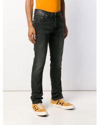 メンズ Nudie Jeans ストレートジーンズ Black