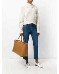 Zanellato Brown Oversized Tote Bag