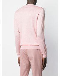 メンズ Ermenegildo Zegna クルーネック スウェットシャツ Pink