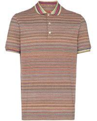 Polo à rayures Missoni pour homme en coloris Multicolor
