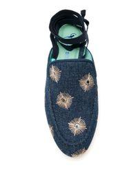Blue Bird Shoes デニムサンダル Blue