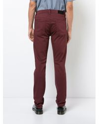 7 For All Mankind - Red Slimmy Luxe Jeans for Men - Lyst