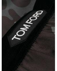 メンズ Tom Ford カモフラージュ ボクサーパンツ Brown