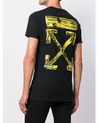 メンズ Off-White c/o Virgil Abloh ロゴ Tシャツ Black
